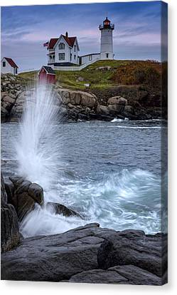 Autumn Tide Canvas Print by Rick Berk