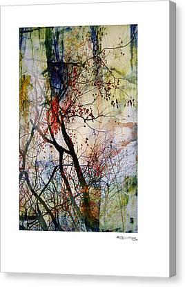 Autumn Tree Composition  Canvas Print by Xoanxo Cespon