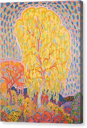 Autumn Tree Canvas Print by Leo Gestel