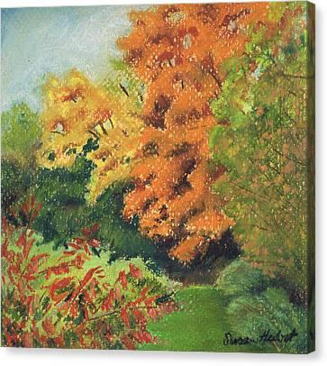 Autumn Uplands Farm Canvas Print