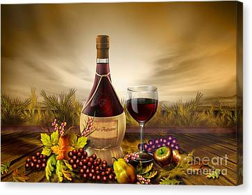 Autumn Wine Canvas Print