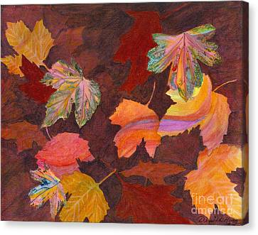 Autumn Wonder Canvas Print by Denise Hoag