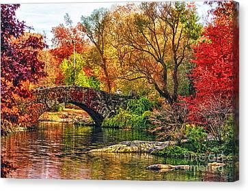 Autumn Wonderland Canvas Print by Nishanth Gopinathan