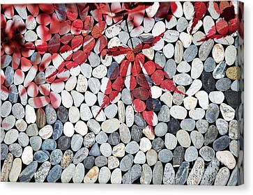 Autumnal Zen Canvas Print by Delphimages Photo Creations