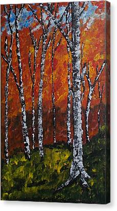 Autumnforest Canvas Print