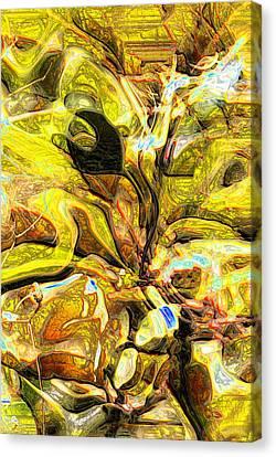 Autumn's Bones Canvas Print by Richard Thomas