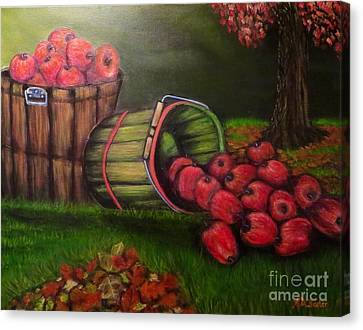 Autumn's Bounty In The Volunteer State Canvas Print by Kimberlee Baxter