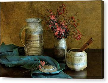 Autumn's Earth Canvas Print by Diana Angstadt