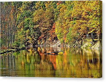 Autumns Glow Canvas Print by Frozen in Time Fine Art Photography