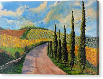 Autunno Toscano Canvas Print