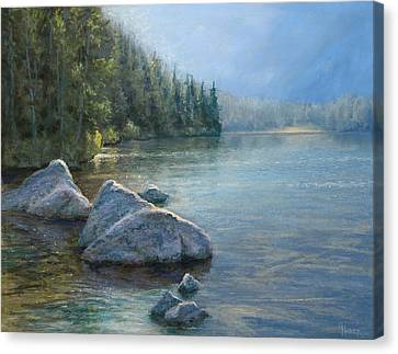 Avalanche Canyon Canvas Print by Gary Huber