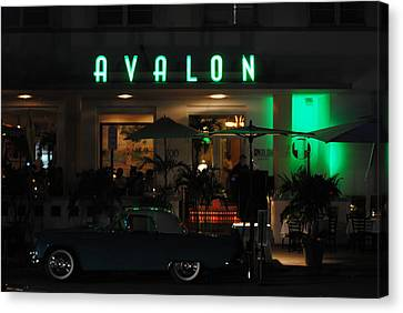 Avalon Hotel Canvas Print