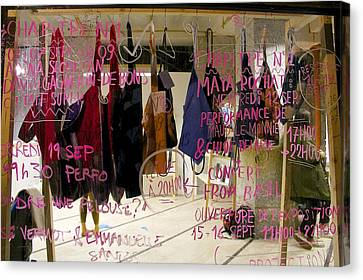 Canvas Print featuring the photograph Performance List by Colleen Williams