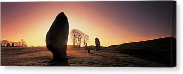 Avebury Wiltshire England Canvas Print by Panoramic Images