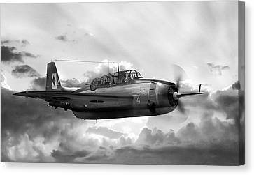 Avenger Canvas Print by Peter Chilelli