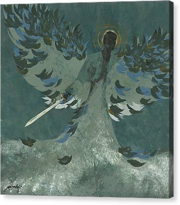 Avenging Angel Canvas Print by John Wyckoff