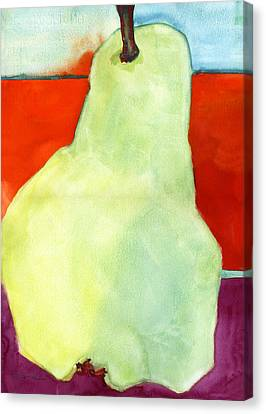 Blendastudio Canvas Print - Avery Style Pear Art by Blenda Studio