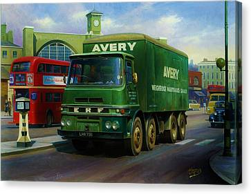 Avery's Erf Lv Canvas Print by Mike  Jeffries