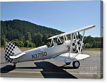 Canvas Print featuring the photograph Aviation Dreams by Mindy Jo Bench