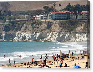 Pismo Beach Ca Canvas Print