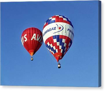 Avis Balloon Canvas Print by John Swartz
