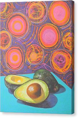 Avocado Delight Canvas Print by Adel Nemeth