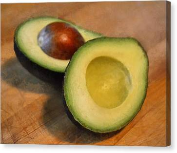 Avocado Canvas Print by Michelle Calkins