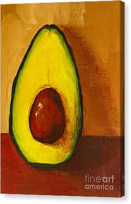 Grocery Store Canvas Print - Avocado Palta 7 - Modern Art by Patricia Awapara