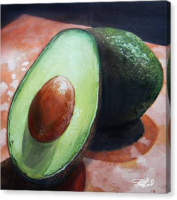 Avocados Canvas Print by Steve Goad