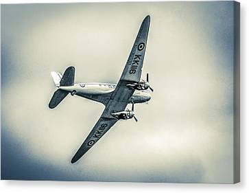 Transportion Canvas Print - Avoiding Cloud by Chris Smith
