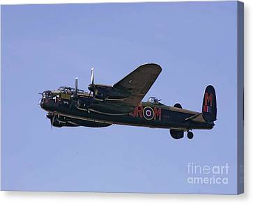 Avro 638 Lancaster At The Royal International Air Tattoo Canvas Print