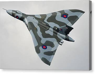 Avro Vulcan B2 Canvas Print by Tim Beach