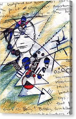 Awake In The Dream Canvas Print by Bruce Manaka