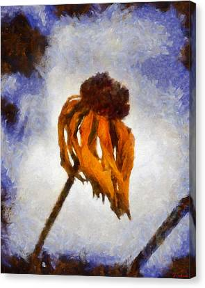 Canvas Print featuring the painting Awaken A New Life by Joe Misrasi