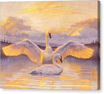 Awakening Canvas Print by Francois Girard
