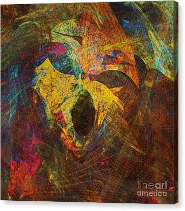 Awakening Canvas Print by Klara Acel