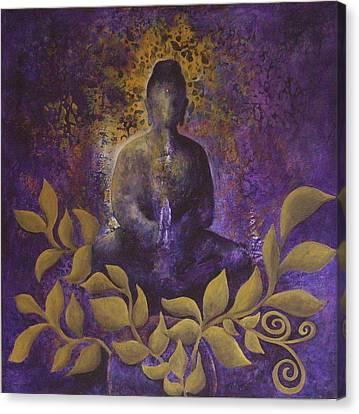 Divine Breath Canvas Print - Awakening by Sharon Lacy-Huff