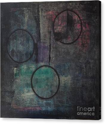 Aware Of Silence Canvas Print