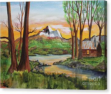 Jack Brauer Canvas Print - Awed Respect by Jack G  Brauer