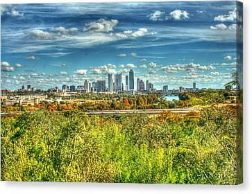 Awesome Austin Canvas Print by Andrew Nourse