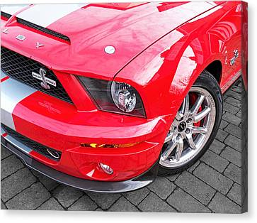 Awesome Mustang - Shelby Gt500 Kr Canvas Print