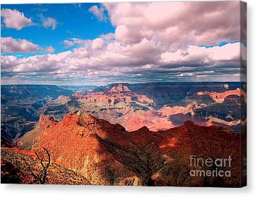 Awesome View Canvas Print by Kathleen Struckle