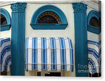 Awning Canvas Print