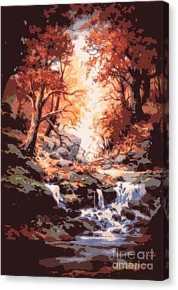 Awsom  Canvas Print by W  Scott Fenton