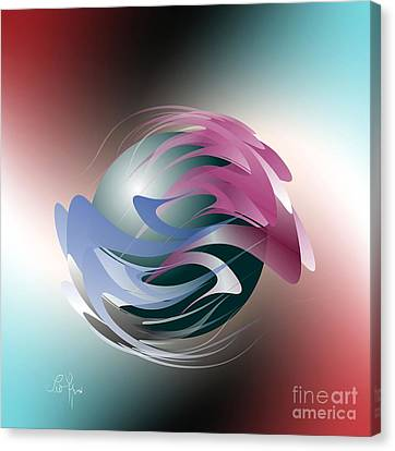 Axial Rotation Canvas Print by Leo Symon