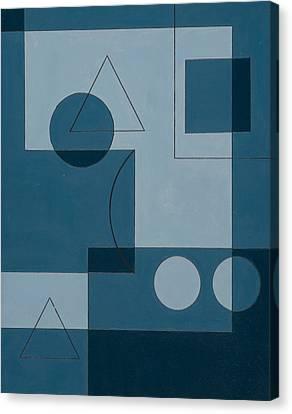 Geometric Canvas Print - Axiom by Peter Hugo McClure