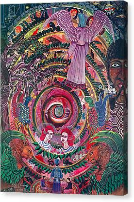 Canvas Print - Aya Muyuywairu Tornado Espiritual by Pablo Amaringo