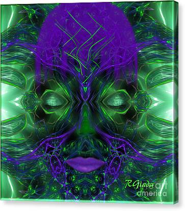 Ayahuasca Experience - Fantasy Art By Giada Rossi Canvas Print by Giada Rossi