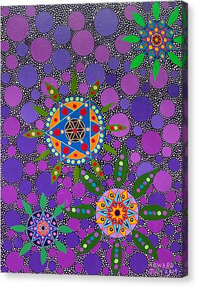 Ayahuasca Vision - The Healing Power Of Plants Canvas Print
