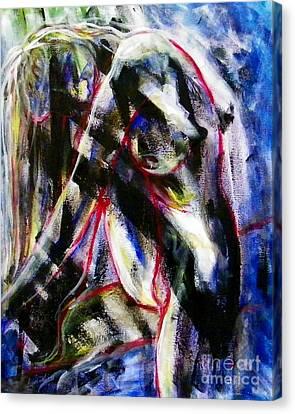 Ayla Canvas Print - Ayla by Aarron  Laidig